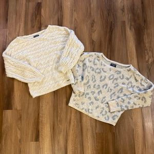 Two Abercrombie Sweaters Bundle